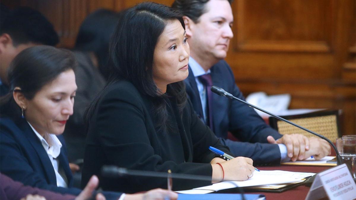 Keiko Fujimori se presenta este viernes ante la comisión Lava Jato del Congreso