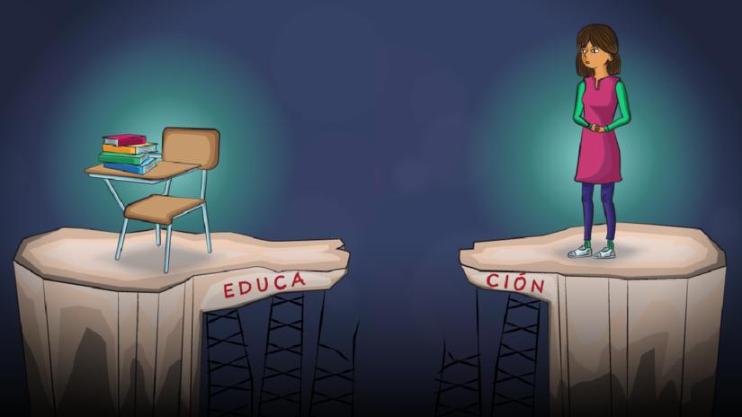 El sistema educativo refleja la enorme desigualad de género en el Perú