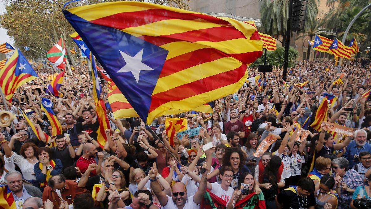 Secesionistas pidieron votar hoy por la independencia de Cataluña