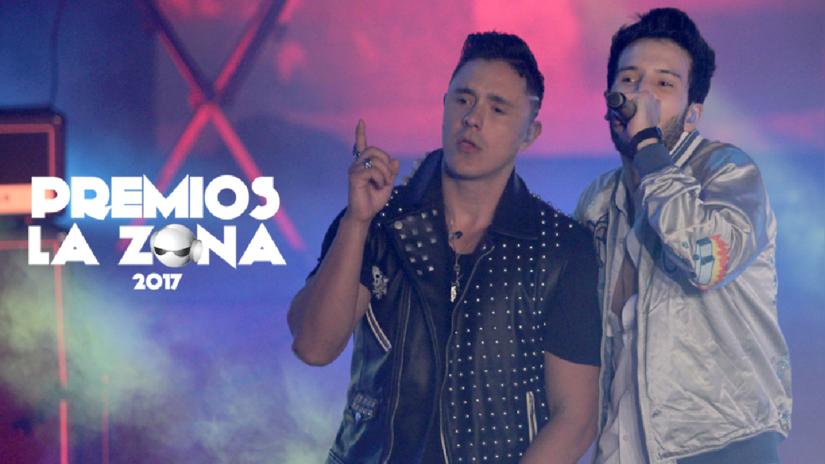 Joey Montana y Sebastian Yatra se juntaron para cantar