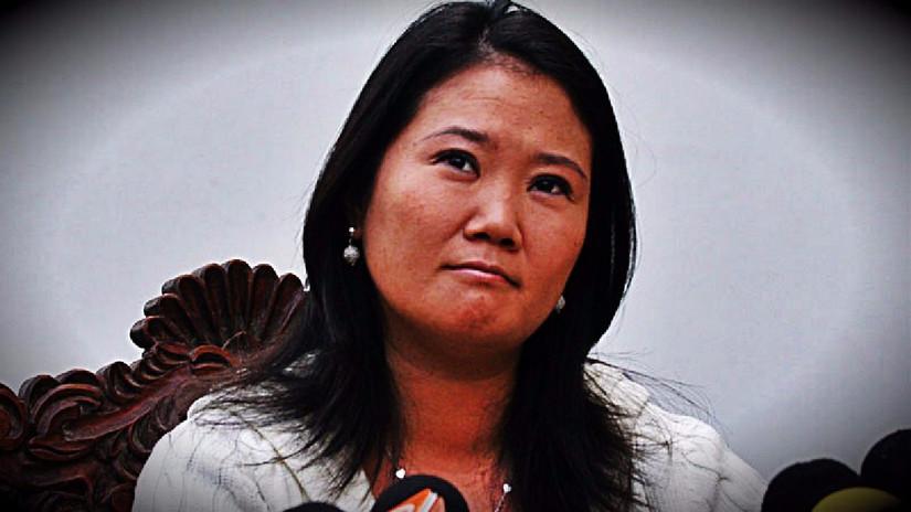 El Poder Judicial ratificó investigación por Ley de Crimen Organizado contra Keiko Fujimori