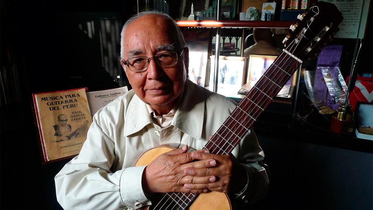 Rául García Zárate, maestro de la guitarra ayacuchana, murió a los 85 años
