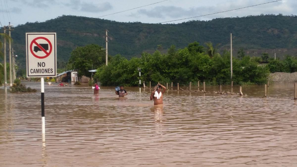 Un muerto, 4 desaparecidos y más de 4 mil afectados por desborde de ríos