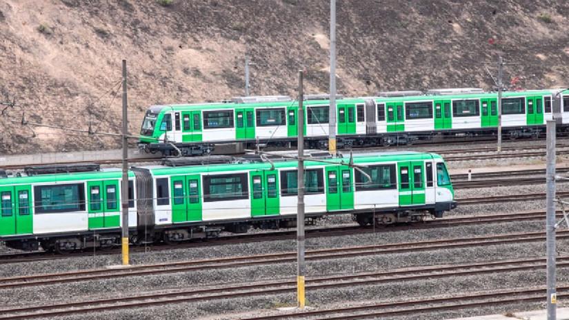 Nuevo tren de la Línea 1 del Metro de Lima pasó con éxito su fase de prueba