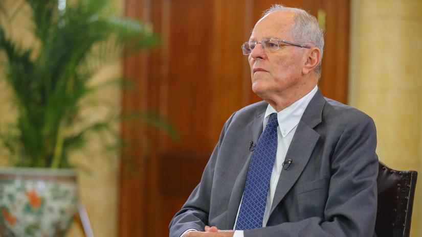 Las frases que dejó PPK en su entrevista en Palacio de Gobierno