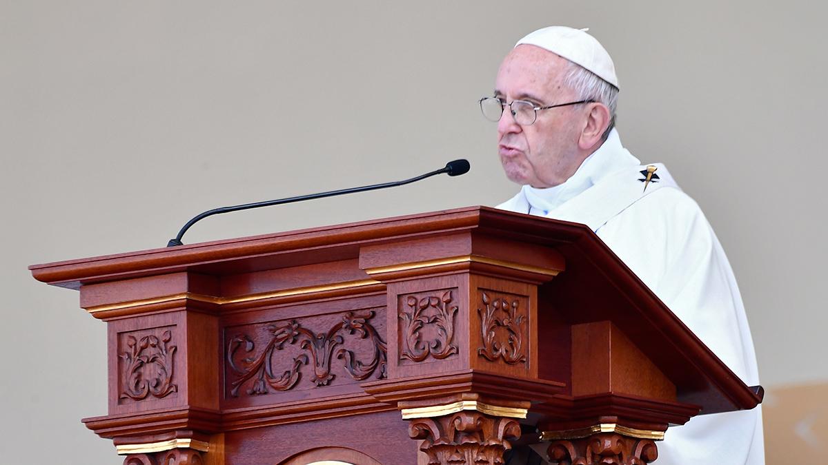 El papa Francisco elogió en Trujillo la unión de los peruanos ante las tragedias