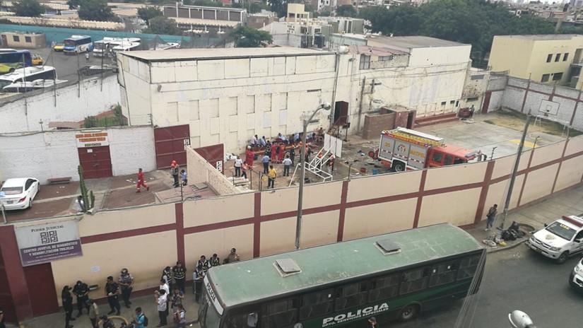 Reportan nuevo motín en centro de rehabilitación ex Floresta de Trujillo