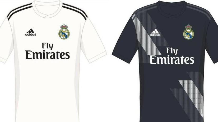 08b92858b3 Se filtraron las posibles camisetas del Real Madrid para la próxima ...