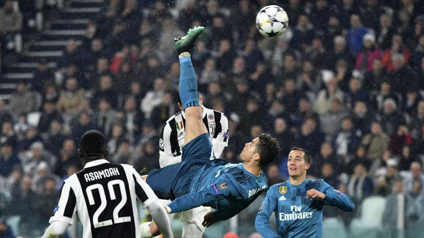 fad7344e56 Real Madrid  Cristiano Ronaldo y su golazo de chalaca desde todos ...