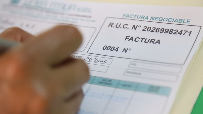 Sunat dicta normas para contribuyentes que aún emiten facturas impresas