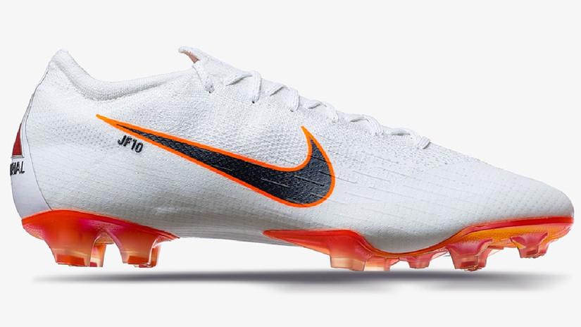 Las zapatillas que Jefferson Farfán usará en Rusia. | Fuente: Prensa Nike