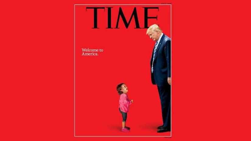 Time y su impactante portada que retrata la política de inmigrantes de Donald Trump