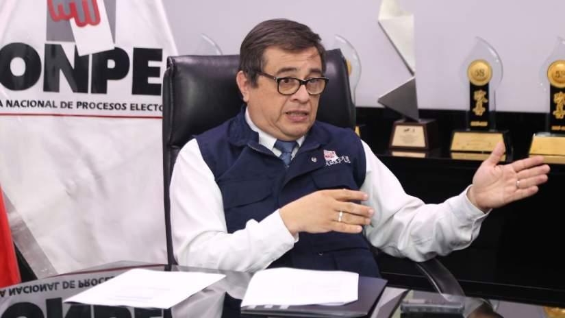 CNM suspende al jefe de la ONPE mientras se realizan las investigaciones