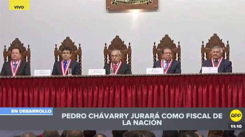 El Ministerio Público confirmó que Pedro Chávarry jurará hoy como Fiscal de la Nación
