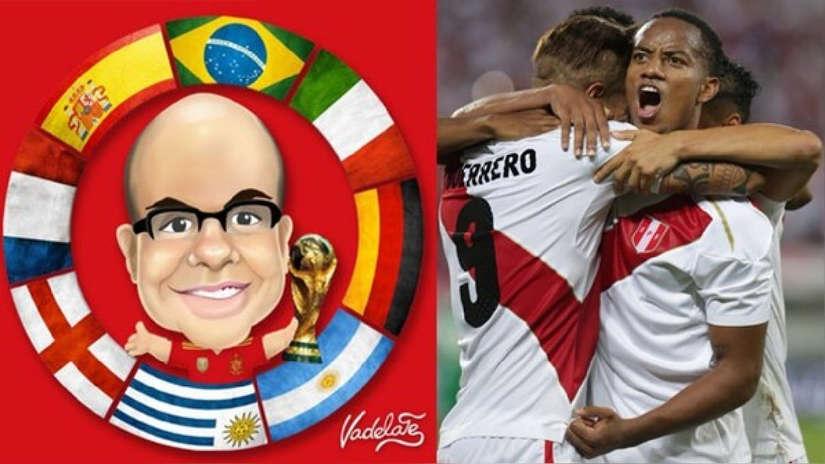 Mister Chip anunció la posición de la Selección Peruana en el ránking FIFA