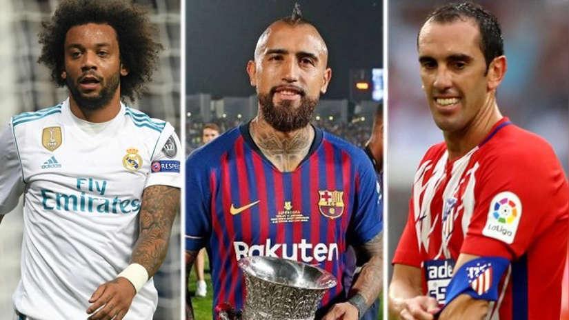El once ideal de latinoamericanos en la Liga Española