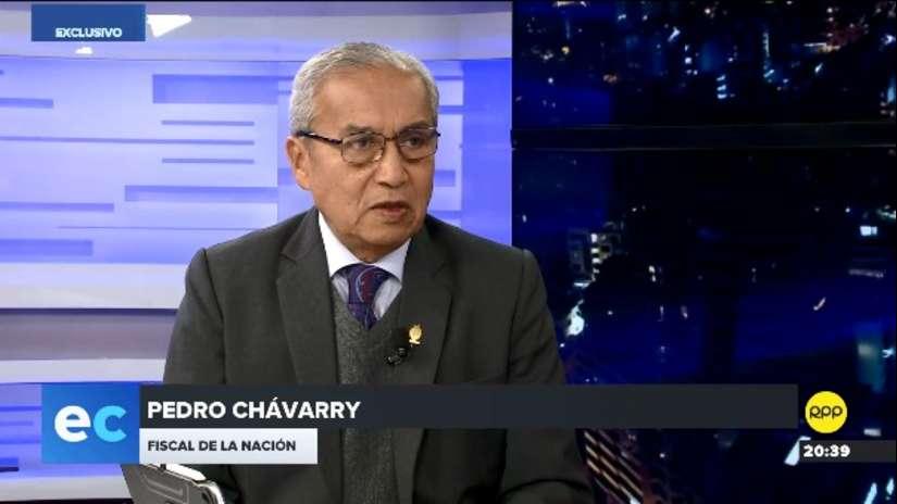 Pedro Chávarry responde a Domingo Pérez: