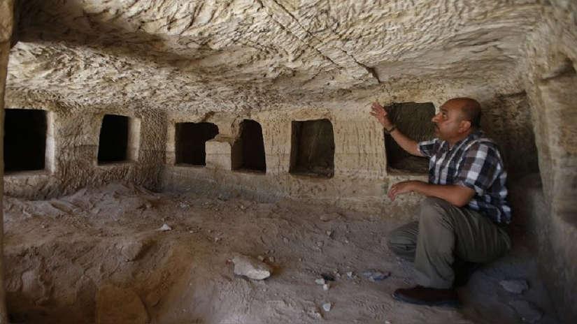 Fotos | Descubren decenas de tumbas romanas en Palestina
