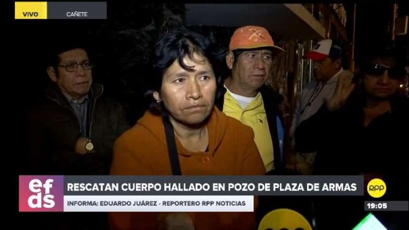 Cerro Azul   Abuela de Xohana Guerra confirma que el cuerpo hallado en pozo es el de su nieta