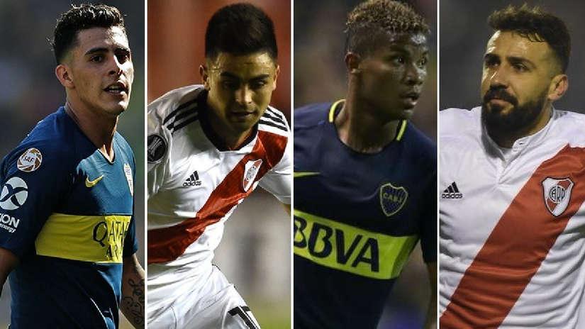 Los 5 jugadores más caros de Boca Juniors y River Plate