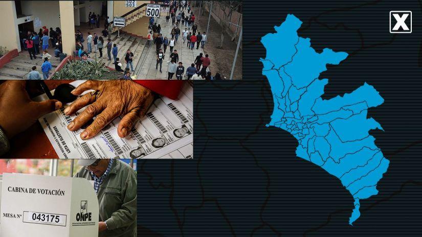 Estos son los resultados a boca de urna para los distritos de Lima