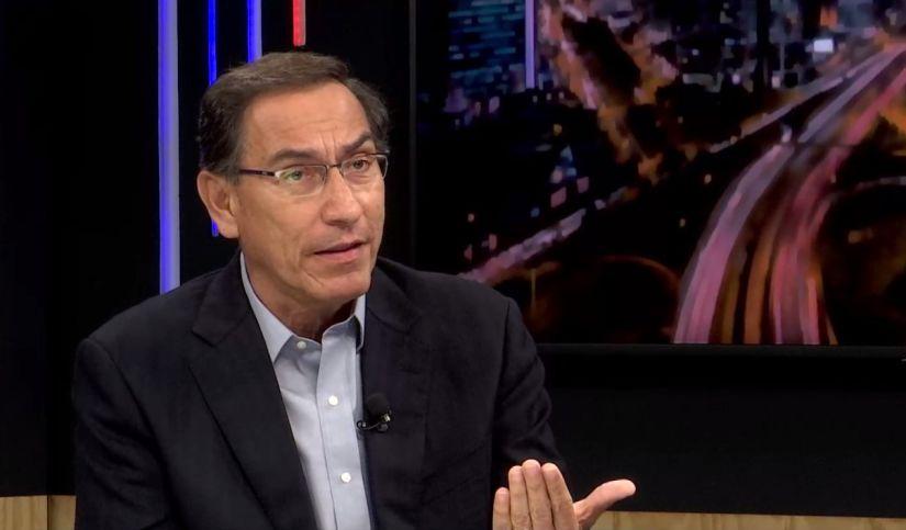 Martín Vizcarra comenta sobre la Bicameralidad
