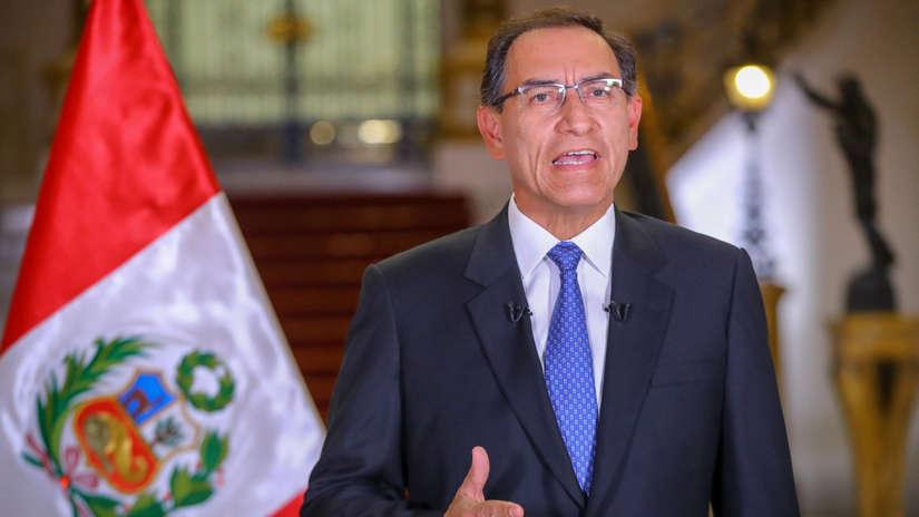 Vizcarra convocará hoy el referéndum para reformas políticas y judiciales