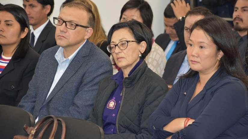 Poder Judicial suspendió audiencia de pedido de prisión preventiva para Keiko Fujimori