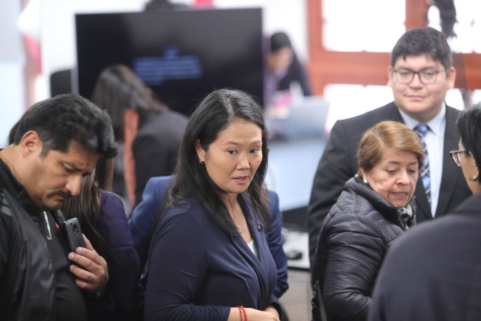 Poder Judicial reprogramó para este miércoles audiencia de prisión preventiva contra Keiko Fujimori