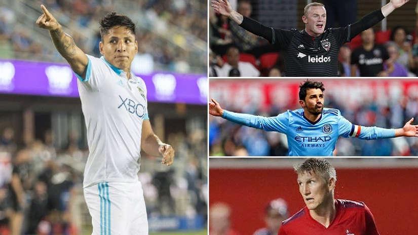 Raúl Ruidíaz dentro de los diez jugadores con mejor salario en la MLS