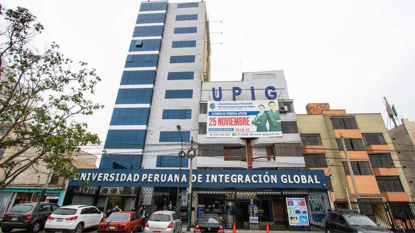Sunedu denegó licencia a la Universidad Peruana de Integración Global (UPIG)