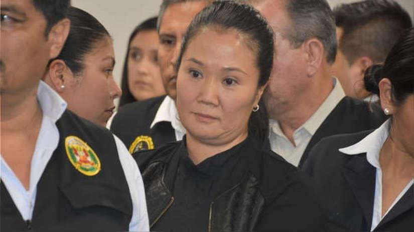 Sala rechazó reprogramar audiencia de apelación de Keiko Fujimori