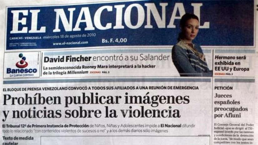 Histórico diario venezolano El Nacional saldrá de circulación asfixiado por el régimen de Nicolás Maduro