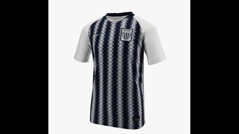 Alianza Lima  así luce la nueva camiseta blanquiazul para el 2019 ... d00e5eb384c