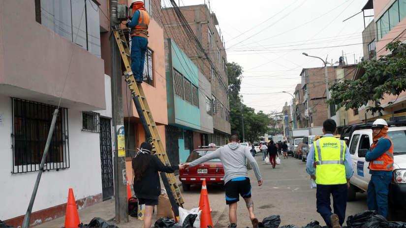 Este es el procedimiento para que regrese la luz eléctrica a San Juan de Lurigancho