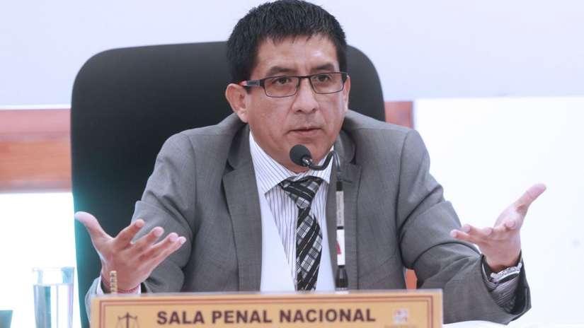"""Presidente del PJ """"lamenta"""" que Concepción Carhuancho haya sido apartado del caso Keiko Fujimori"""
