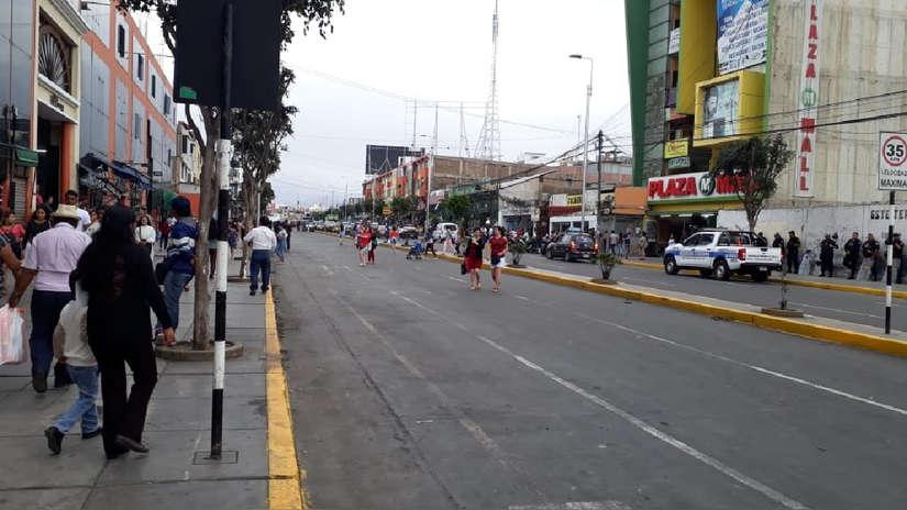 Así quedó Trujillo tras el desalojo de cientos de comerciantes informales