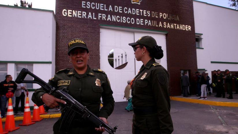 Reportan una fuerte explosión cerca a la escuela de Policía de Bogotá