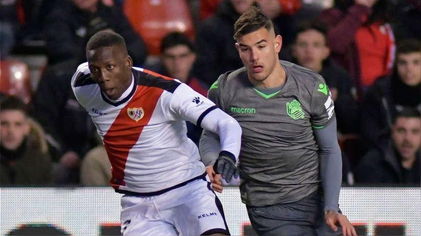Con Luis Advíncula de titular, Rayo Vallecano empató 2-2 ante Real Sociedad