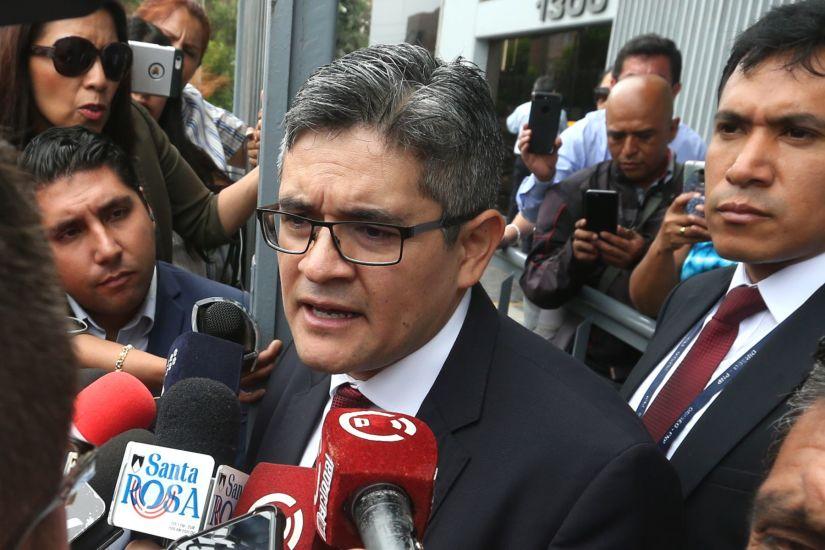 """José Domingo Pérez tras diligencia en Telefónica: """"Hubo facilitación por parte de la empresa"""""""