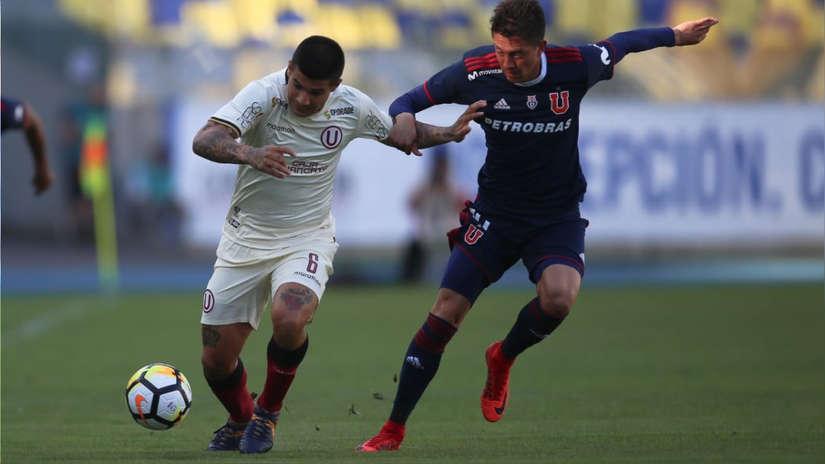 Universitario de Deportes cae 2-1 ante la Universidad de Chile en amistoso internacional
