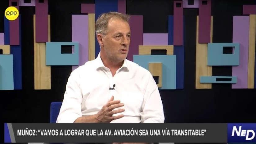 Jorge Muñoz: Vamos a actuar para que la avenida Aviación sea transitable