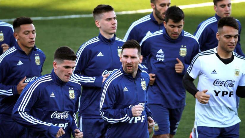 Lionel Messi: así fue su entrenamiento en la Selección de Argentina luego de ocho meses