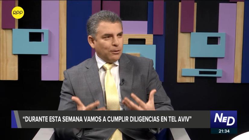 Vela: Firma de colaboración con Maiman permitirá solicitar nueva extradición para Alejandro Toledo