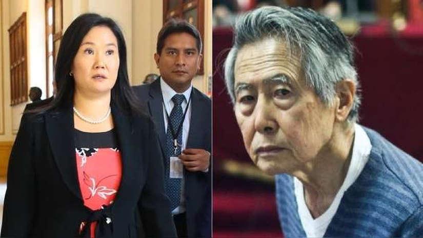 Keiko Fujimori fue trasladada al penal de Barbadillo para visitar a su padre
