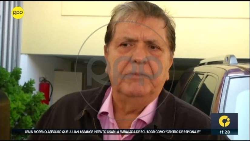 Alan García: