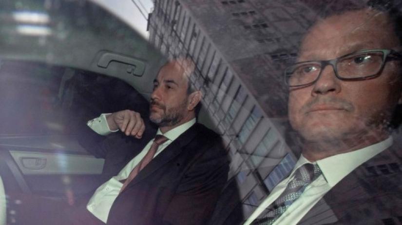 Jorge Barata llegó a la Procuraduría General para declarar sobre los aportes de Odebrecht