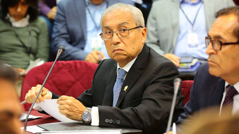 Informe final de Juan Sheput recomienda la destitución e inhabilitación de Pedro Chávarry por 10 años