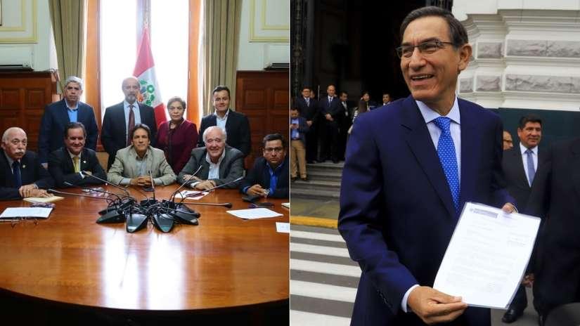 Así fue el nuevo roce entre Martín Vizcarra y el Congreso por la inmunidad parlamentaria