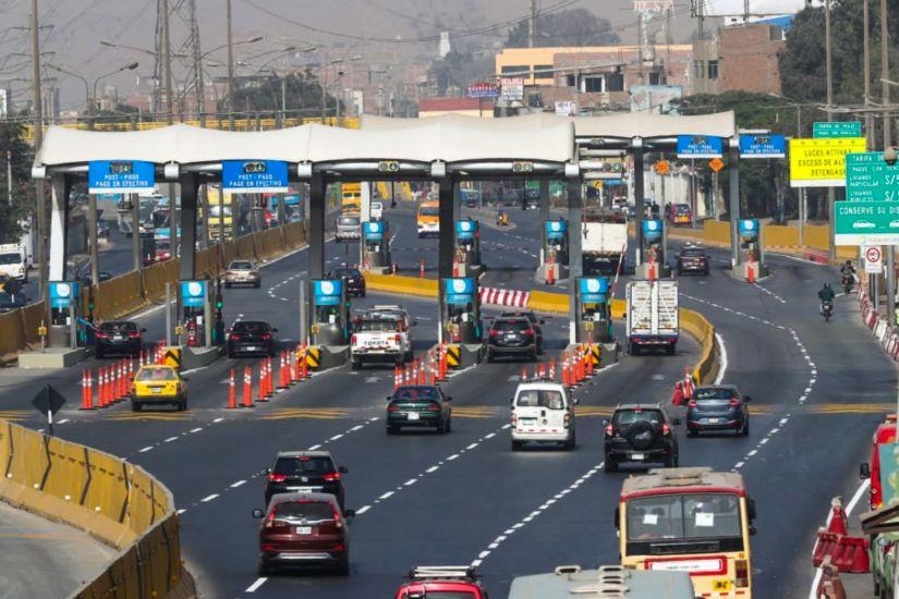 Rutas de Lima y LAMSAC aceptan mejorar contratos de peajes de Lima durante reunión con Jorge Muñoz